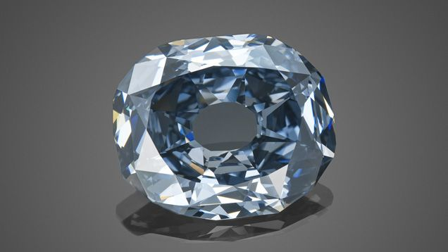 The Wittelsbach Blue Diamond