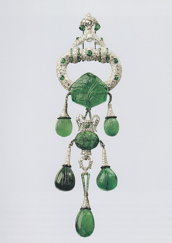 The Marjorie Merriweather Post Emerald Cartier Brooch