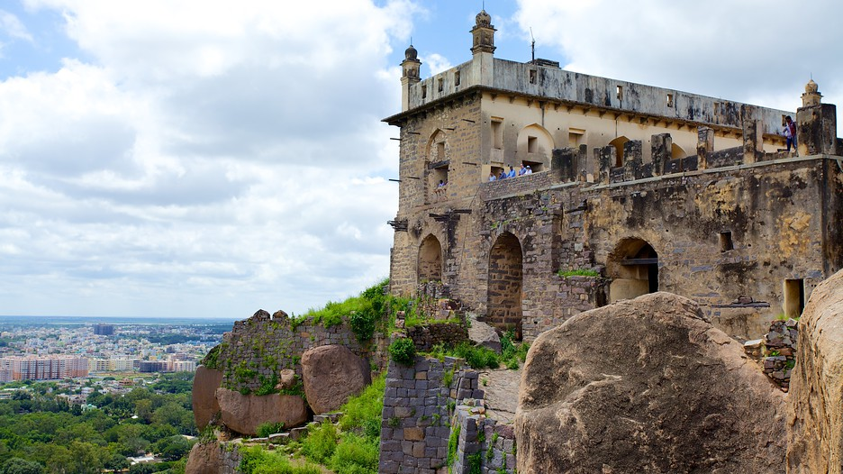 The Golconda Fort in India