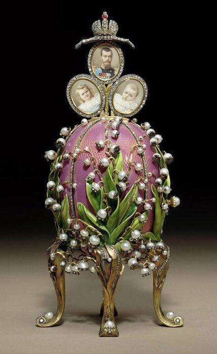 The 1898 Lily of the Valley Imperial Egg.