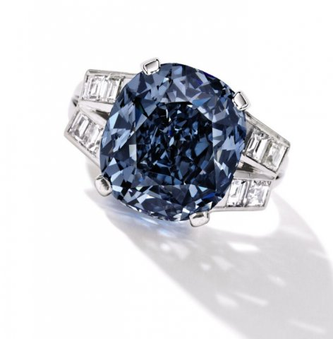 Failed to sell: the Shirley Temple Blue diamond.