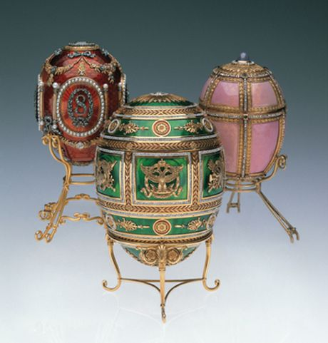 Fabergé's subsequent, more elaborate creations.