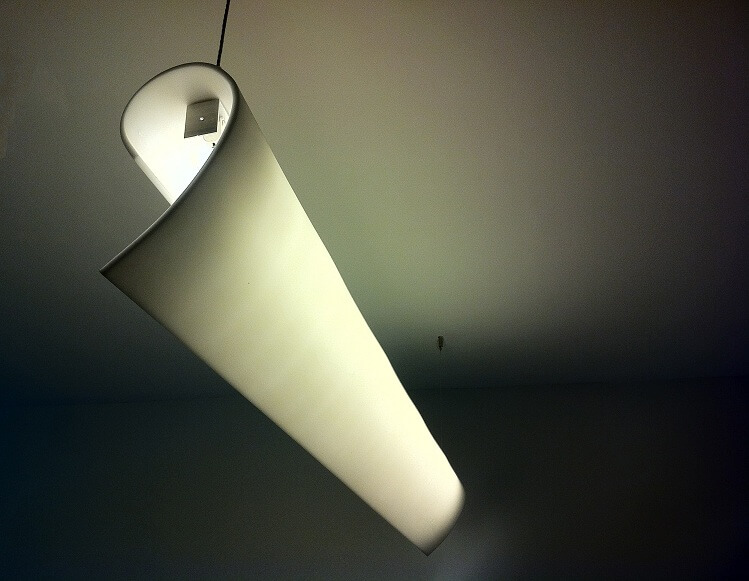 Paper Light Light Fixture Design for an office