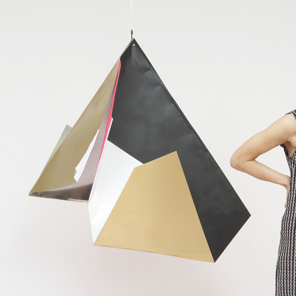 monuMeant  Metal Origami for  mizu  Fashion Design