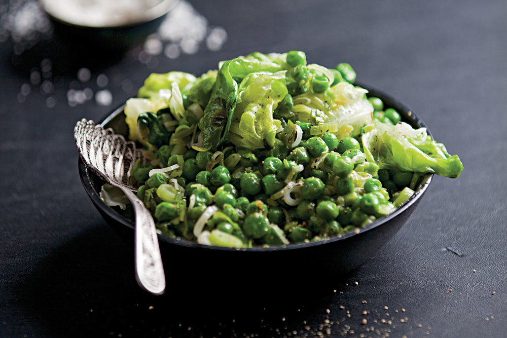 We found a load of great green peas recipes on Saveur.com