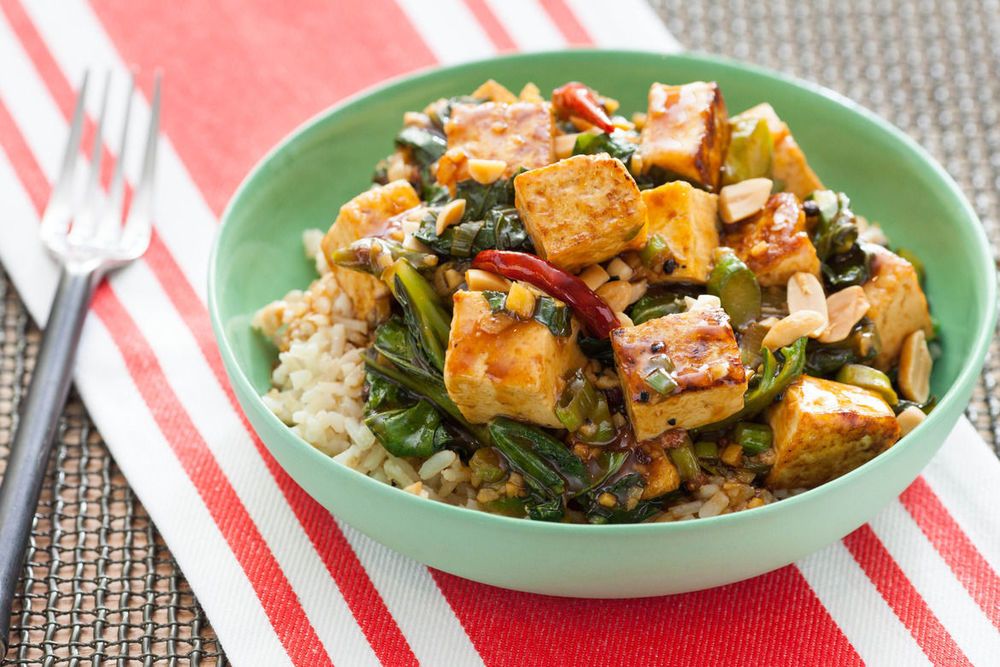 Kung Pao Tofu recipe from blueapron.com