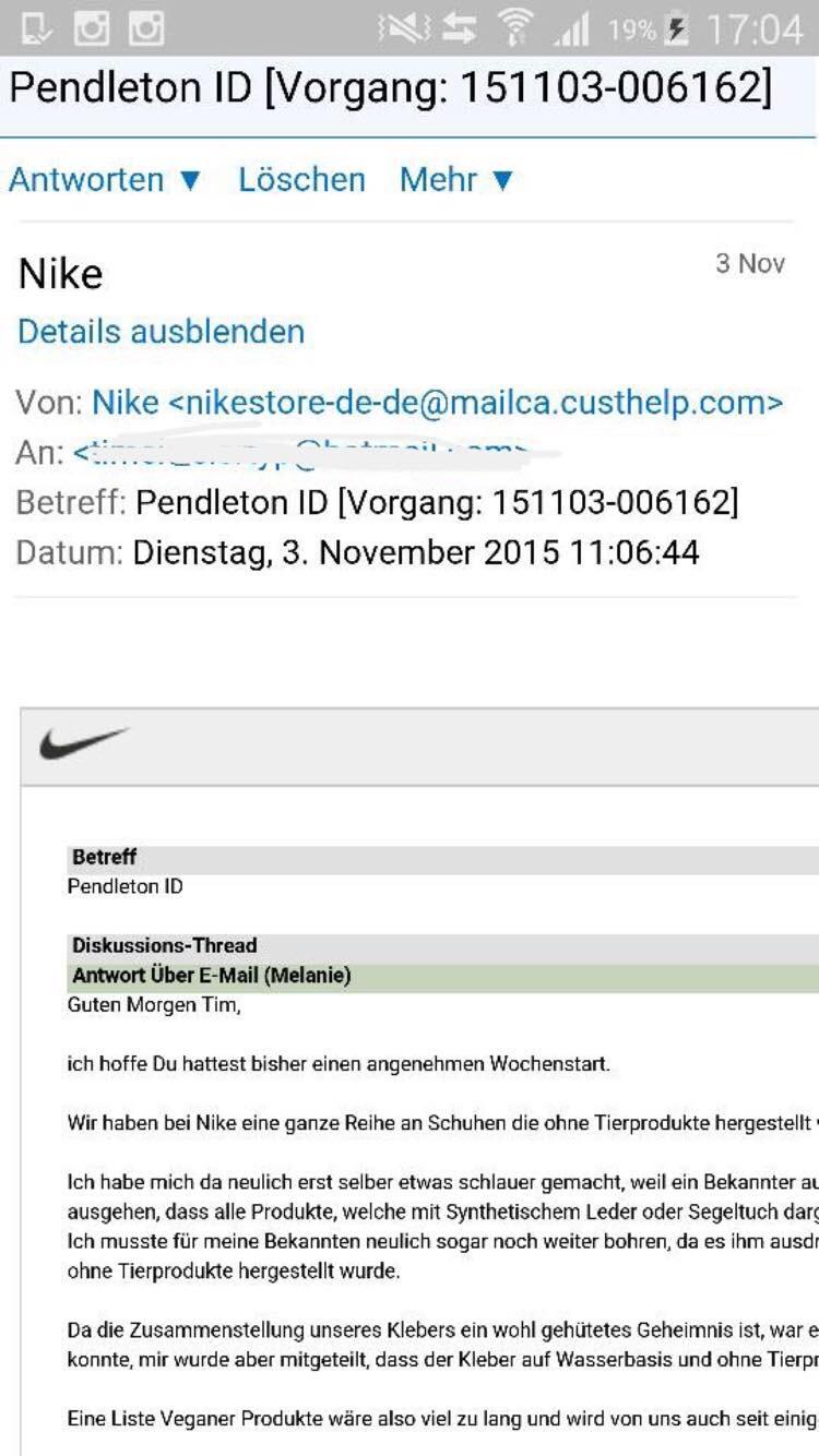 Bien connu Vegan Sneakers from Nike — Vegan Norway KZ93