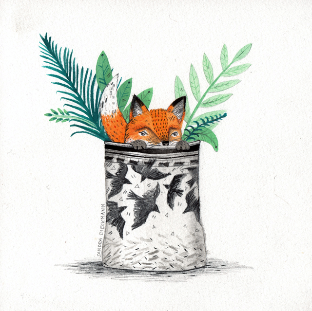 DAY 17 // FOX POT
