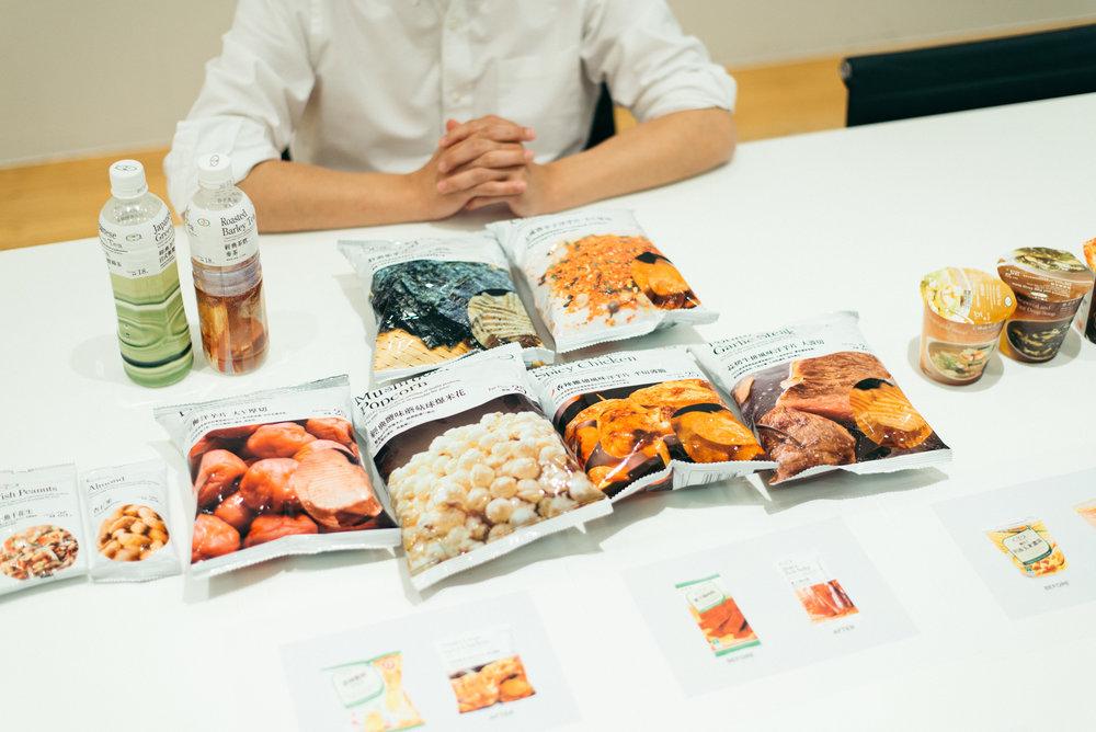 2011年至2012年間,受邀替臺灣7-11自創品牌「7- select」設計產品包裝、品牌定位,為便利商店之設計帶來一股全新力量。