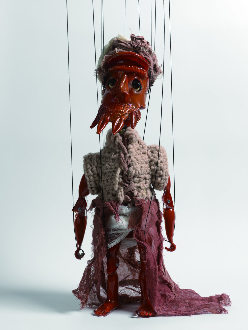 Wael Shawky, Cabaret Crusades: The Secrets of Karbalaa(Marionette), 2015  © Wael Shawky; Courtesy Lisson Gallery