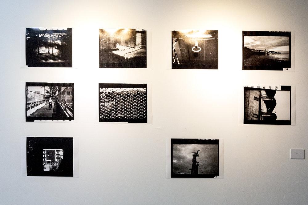 展區「溫德斯的小津」攝影作品