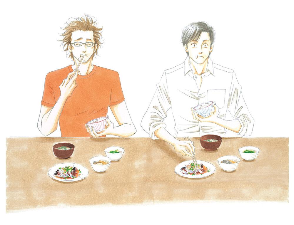 作家吉永史出版的多部作品,以同樣被改編成日劇的《西洋古董洋菓子店》與《大奧》較臺灣大眾熟知。©よしながふみ/講談社
