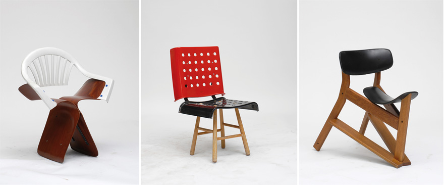 Nice 100 Chairs In 100 Days And Its 100 Ways, An Extraordinary Story Of Design  By Martino Gamper