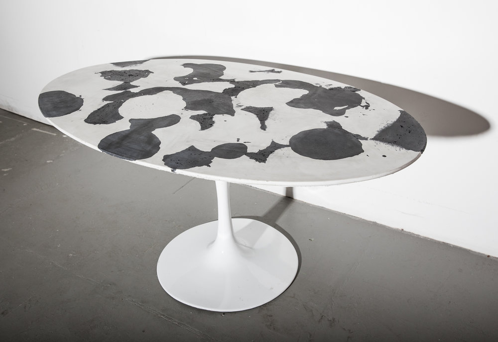 1_Patrick Cain Designs_Harvey Concrete Tulip Table_Cowhide.jpg