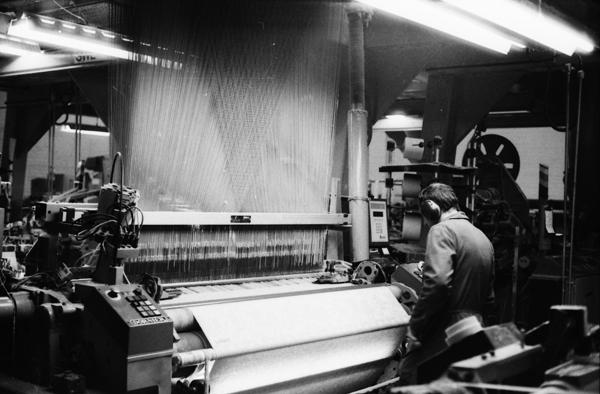 Bysshe Partnership Jacquard loom