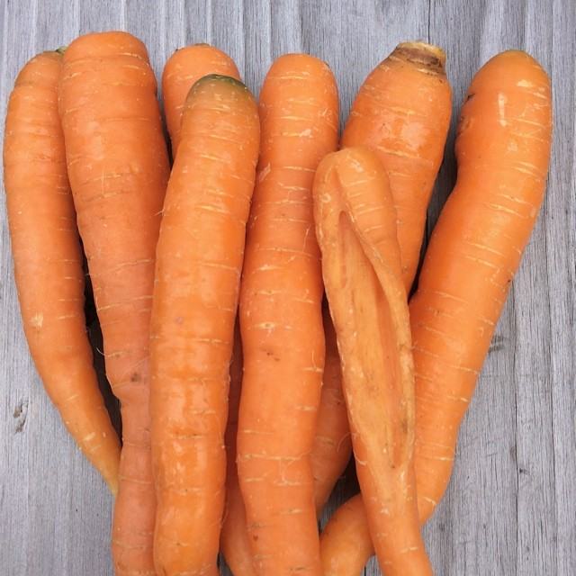 Healthy snack time!   #raw #carrots #organic #vegan