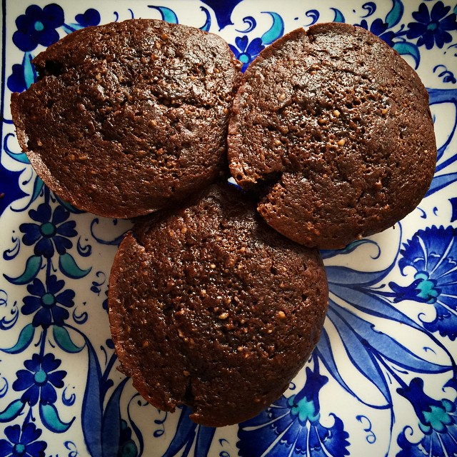 #chocolate #avocado #muffins yes!!! these take the cake. #vegan