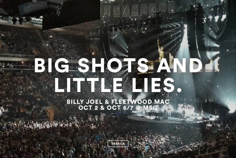 Billy Joel & Fleetwood Mac @ MSG