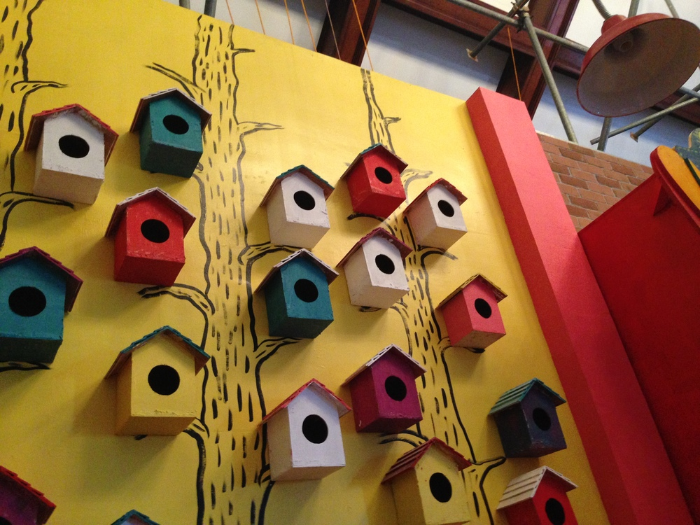 Building birdhouses in our soul.