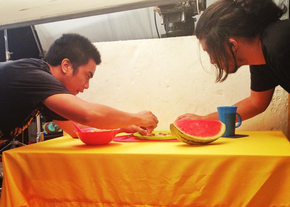 Art Directors Happy Garaje's intense watermelon work.