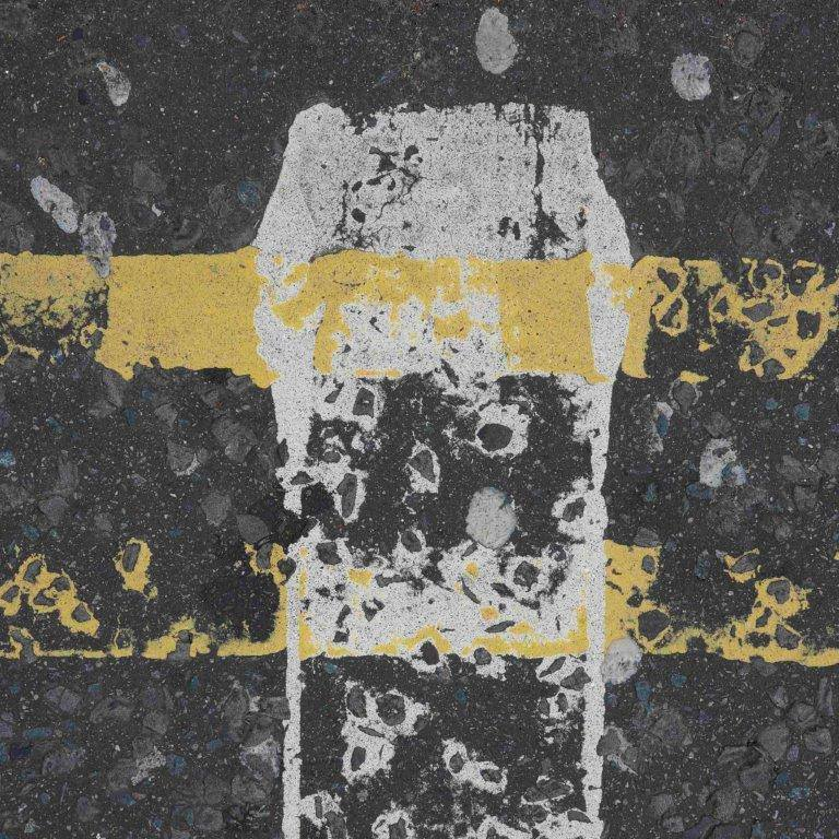 Road Markings, Old Steine, Brighton - Klaudia Dietewich