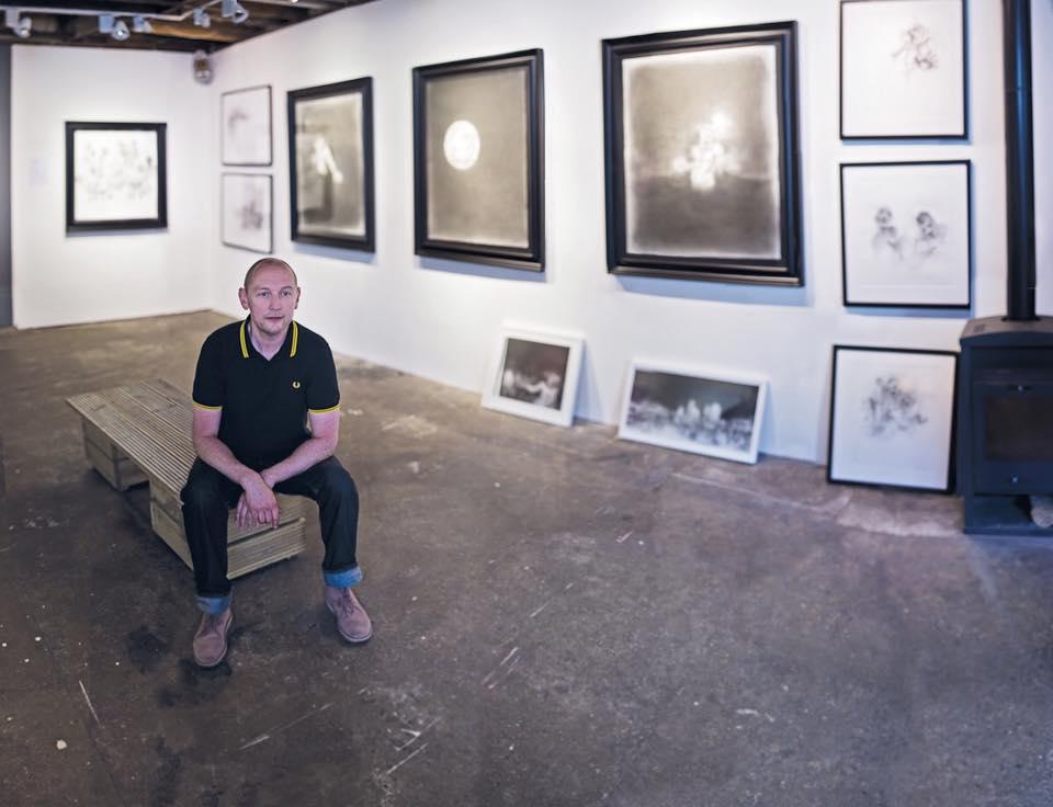 Artist Ian Hodgson. Photograph by Andrew Roach