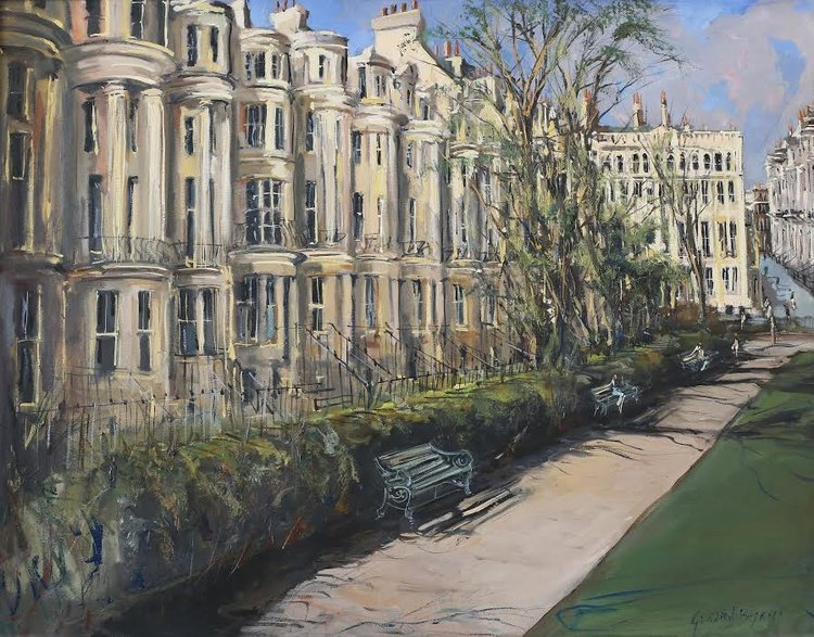 April at Brunswick Square - Gerard Byrne