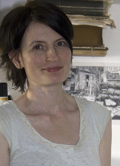Artist Marion McConaghie