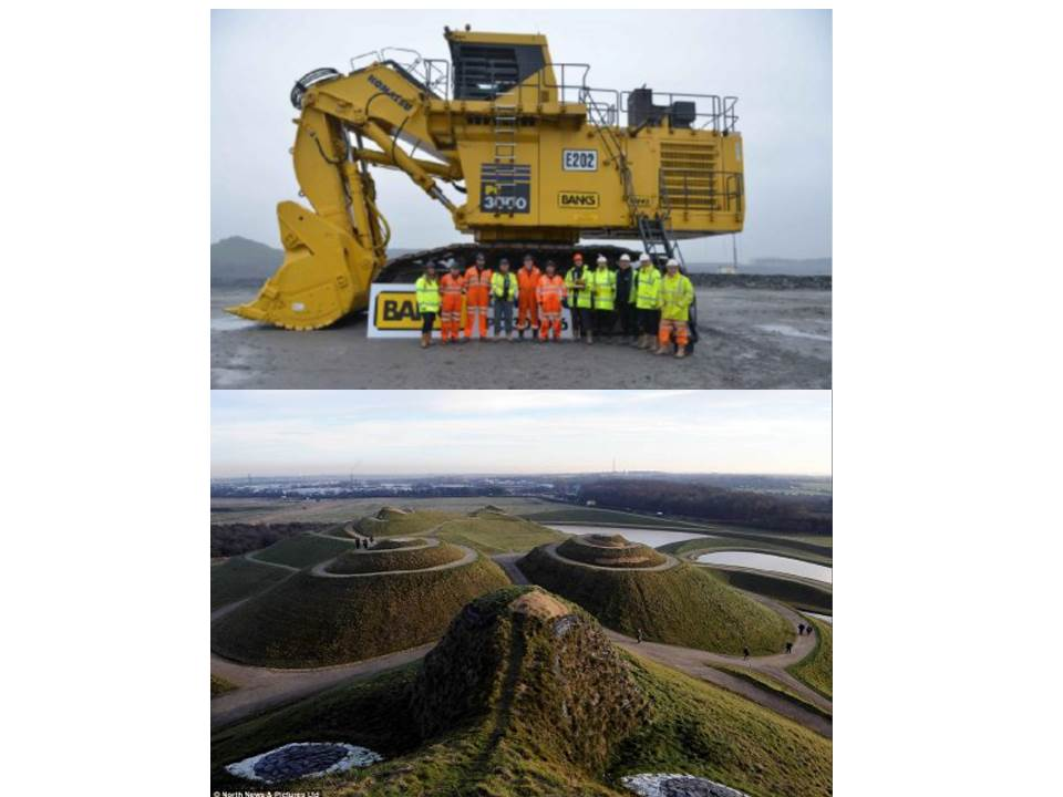- Shotton Surface Mine and Northumberlandia.  (Approx. 45mins north of Durham)