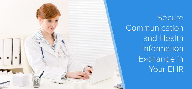 secure communication EHR