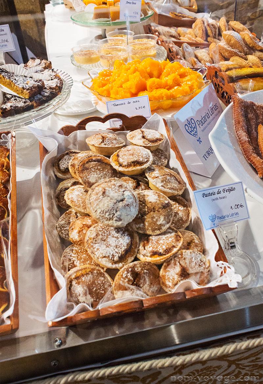 Pasteis de Feijão: bean pastries, vaguely reminiscent of some Japanese azuki bean desserts.