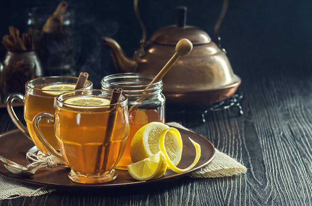 Hot Lemon Spice Tea