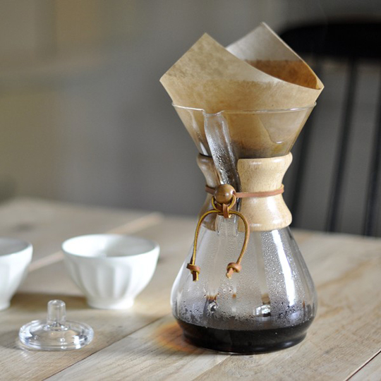My current favorite way to brew is the chemex. It's the anti-Keurig. Time consuming and delicious. If you're going to buy nice coffee, this will help you taste more of it.