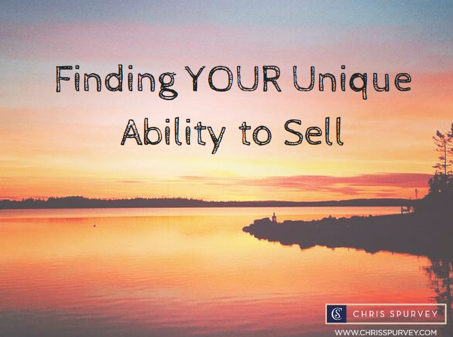 Download my 'Find Your Unique Ability to Sell' Checklist.
