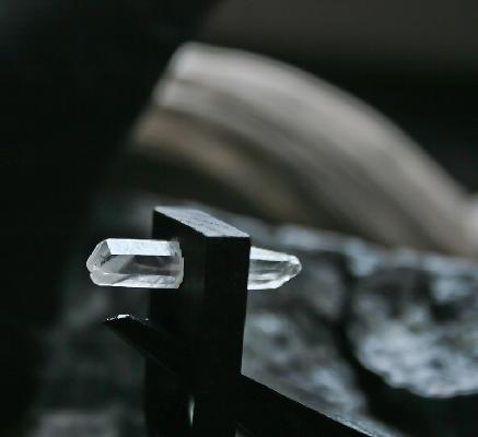 Black Oak Crystal Ring by myYUKIKO | $120.00