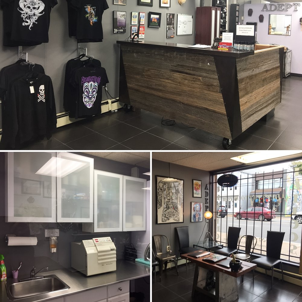 Adept Tattoos and Body Piercing Quinpool