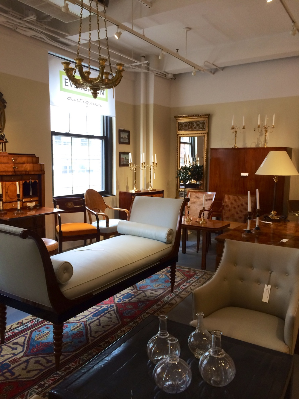 Evergreen Antiques was founded in 1982 in SoHo, NYC by Paul Sigenlaub, who  had the vision to bring unique collections of Scandinavian furniture and  design ... - Our Story — Evergreen Antiques