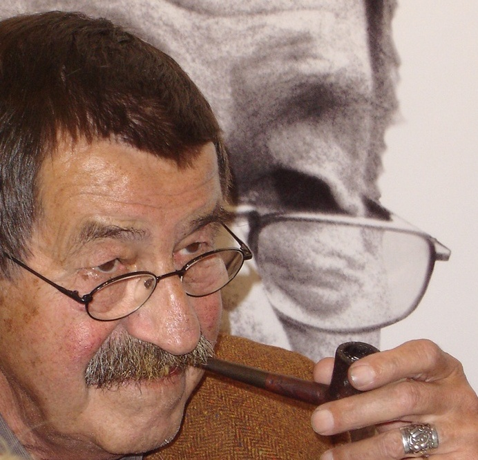 A photo of Gunter Grass by Florian K. Licensed through Wikimedia Commons.