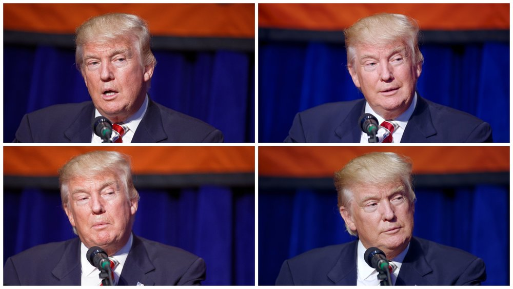 DONALD TRUMP SPEAKS AT A CONSERVATIVE PARTY EVENT AT THE MARRIOT MARQUIS IN NEW YORK CITY IN SEPTEMBER 2016. IMAGES BY MICHAEL VADON VIA WIKIMEDIA COMMONS.