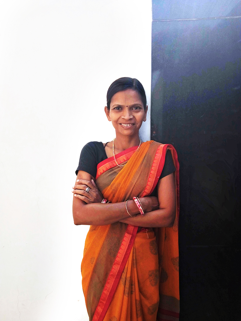 Rani at SETU  office in India