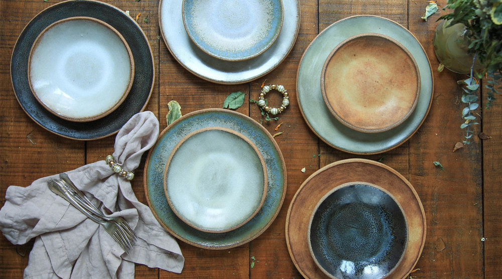 "6.75"" Dessert Bowls and 9"" Salad Plates"