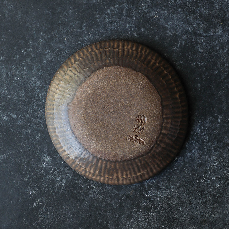 6.75%22 Dessert Bowl (top-down back texture ) - Brown Leather Matte - TPC (26 of 109) copy.jpg