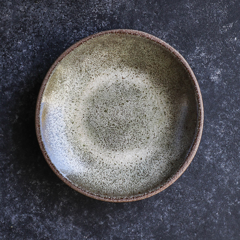 6.75%22 Dessert Bowl (top-down view) - Moss Green - TPC (25 of 109) copy.jpg