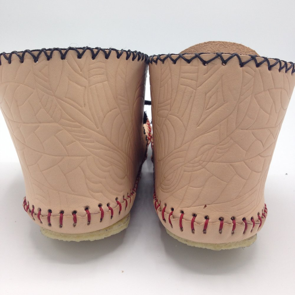 handtooled moccasins