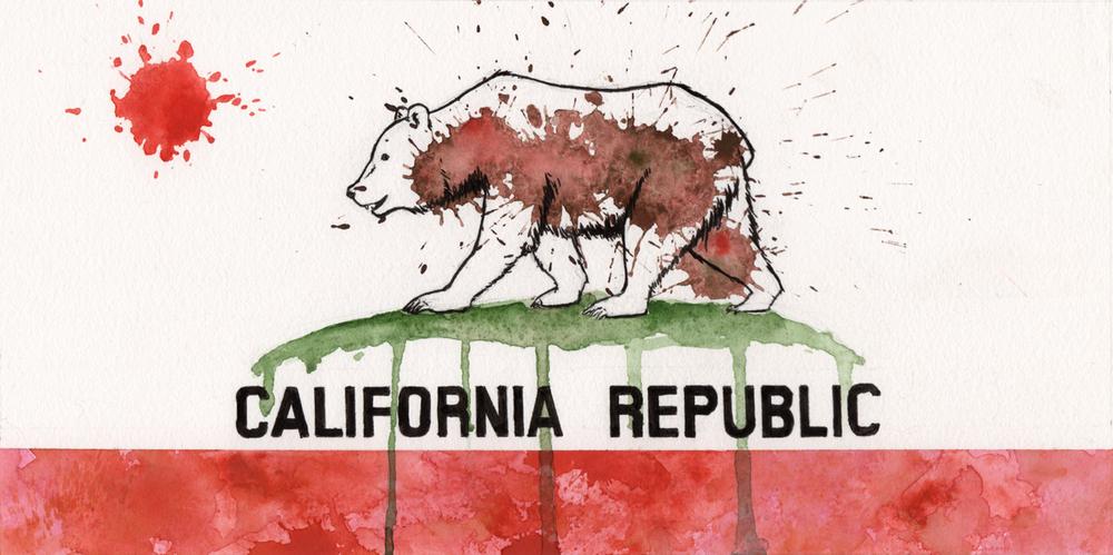 CA Splat flag