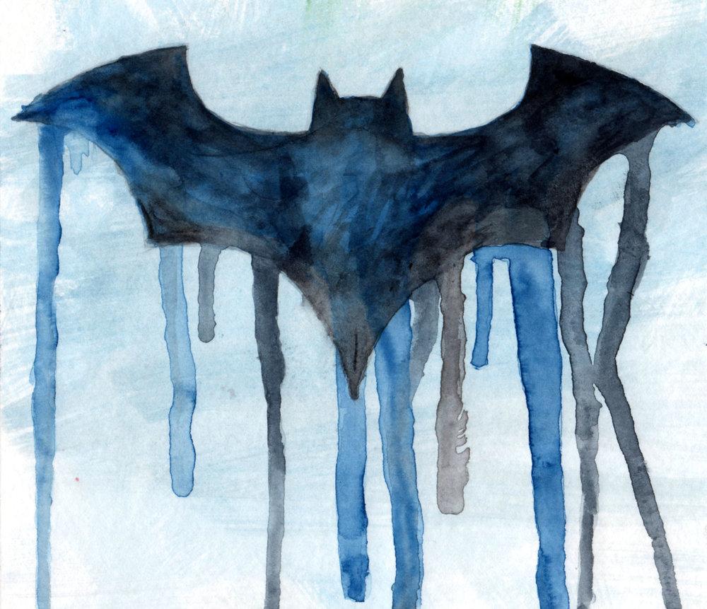 Bat Symbol (grey Suit)