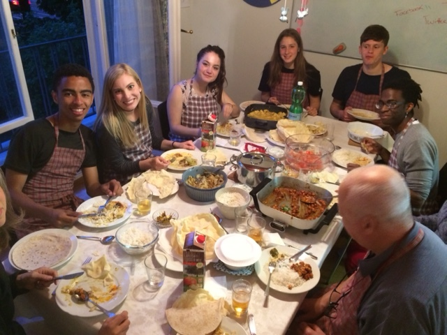 Youth Group Curry night