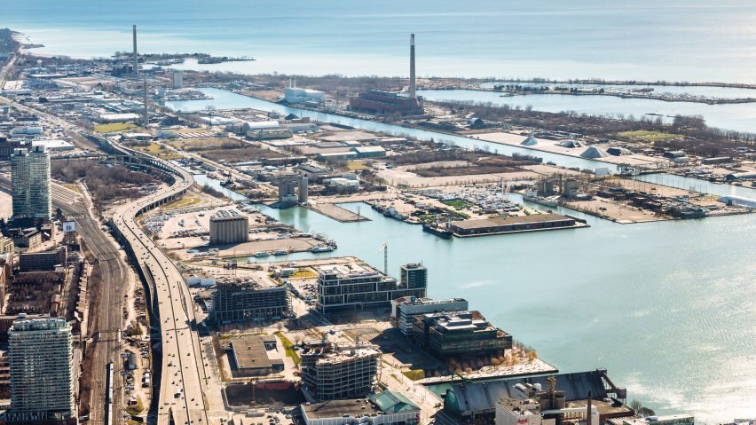 The waterfront in Toronto that will be developed by Google's Sidewalk Labs