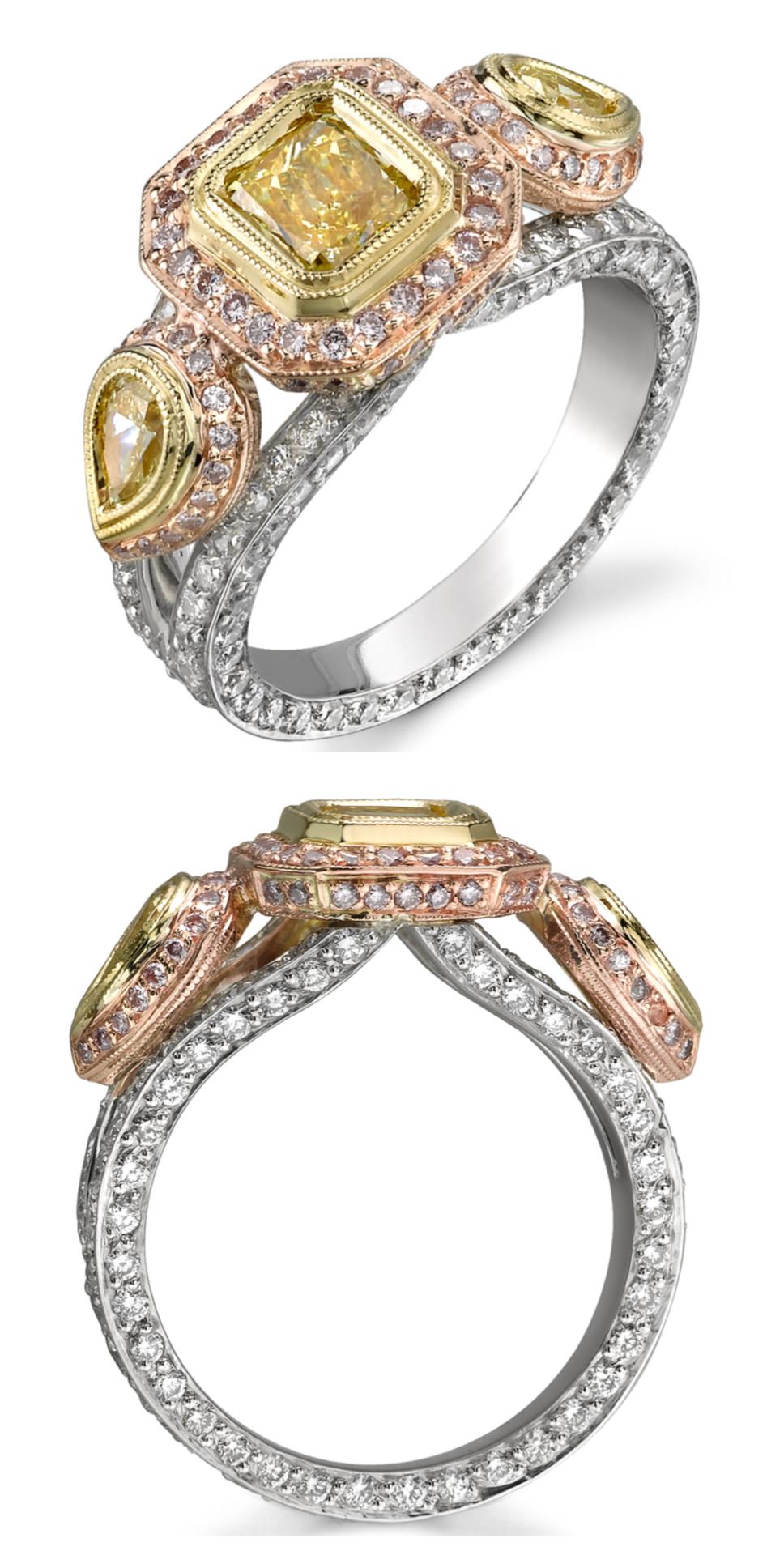 Fancy Color Diamonds — Michael Barin