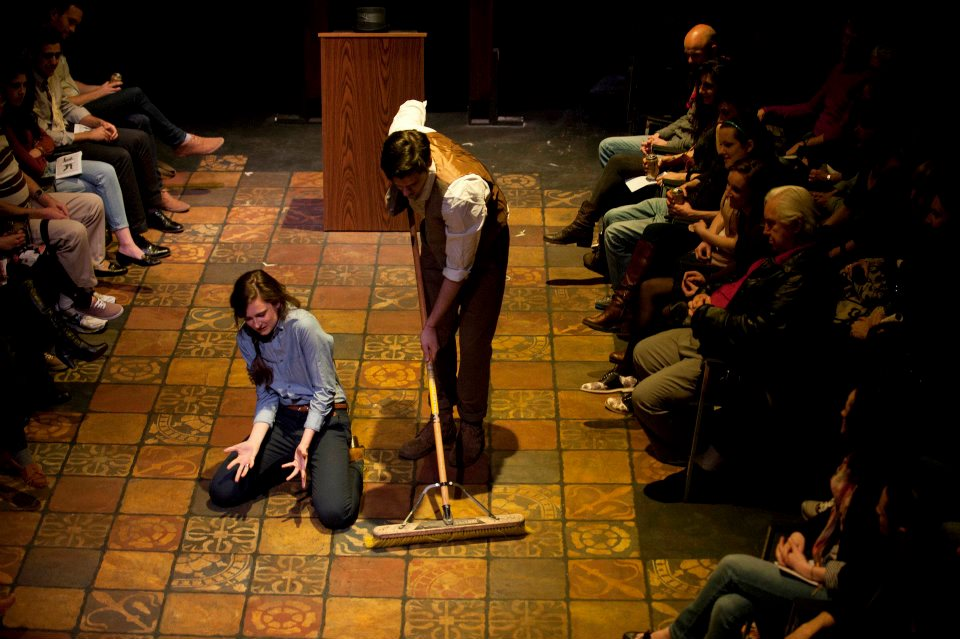 Pipeline Theatre's Brave New Works 5   photo by:   Ahron R. Foster